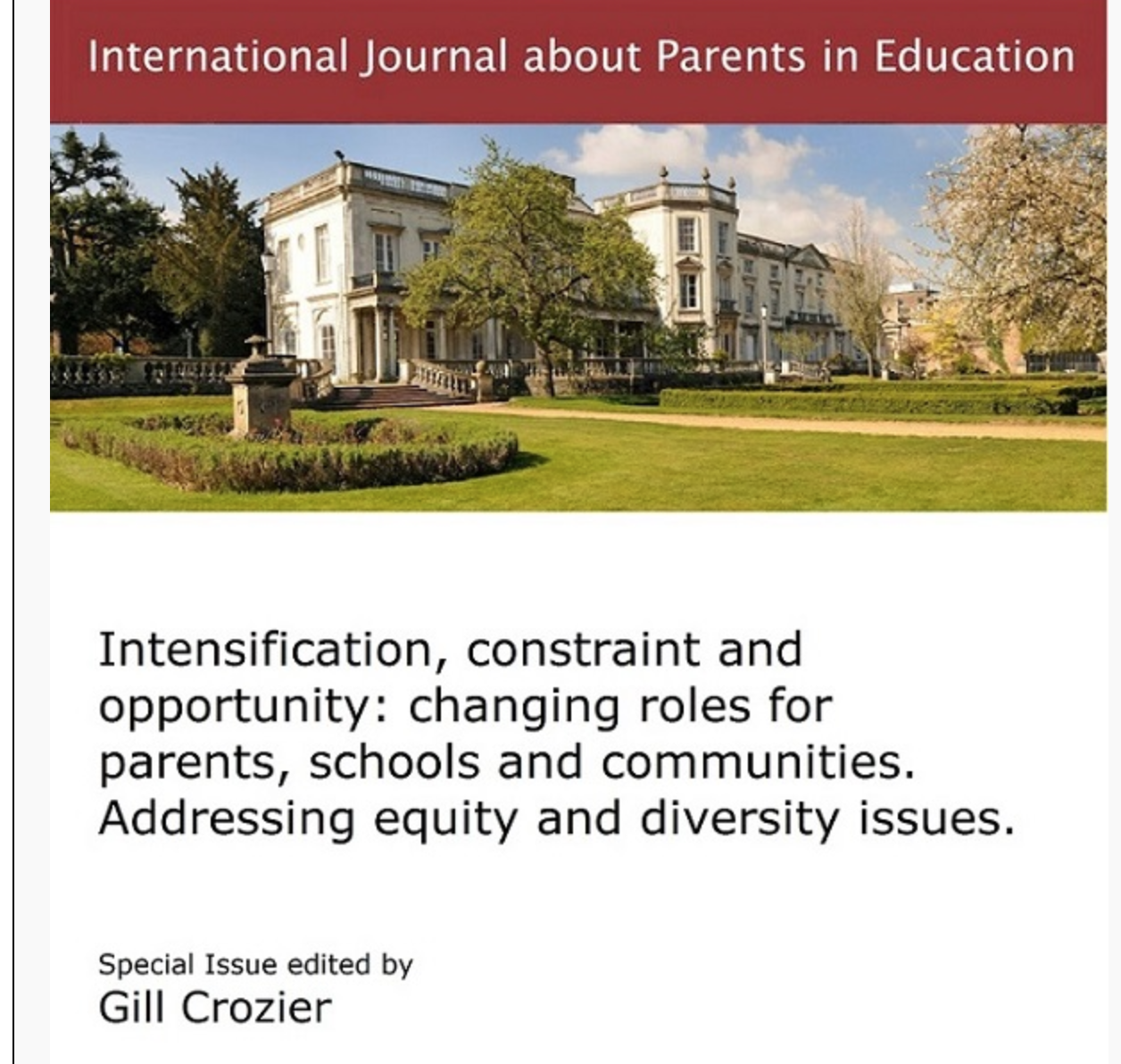Now out: IJPE Conference Special Issue